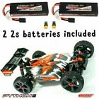 COMBO Team Corally 1/8 Python V2  W/ 2 2S LIPO BATTERIES INCLUDED  XP 4WD Buggy