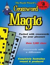 Crossword Magic No. 3 by The Puzzle The Puzzle Wizard (2013, Paperback)