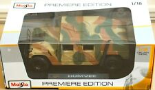 Rare Humvee Camouflage Opening Parts Model 1:18 Mint in Box Stunner by Maisto