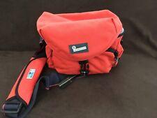 Crumpler – Camera bag, orange/blue