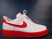 Nike Air Force 1 Low White University Red Midsole CK7663-102 NEW Men's Size 13
