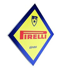 Pirelli Dealer Sign 1960's, Diamond Shape
