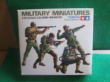 TAMIYA U.S. ARMY INFANTRY (1:35 SCALE) UNMADE IN BOX