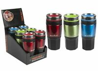Summit 14oz/400ml Insulated Drinks Travel Mug with Grip Outdoor - 1 Unit Red Mug