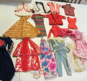 Vintage barbie clothes lot