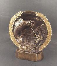 Fishing Trophy Bass Award Plaque. Free Engraving.