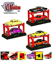 AUTO LIFT SERIES 13,SET OF 6 CARS 1/64 BY M2 MACHINES 33000-13