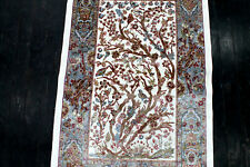 New listing 4X3 Exquisite New 1000Kpsi Hi Qlty Power Loomed Art Silk Hunting Turkish Rug