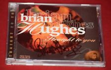 Brian Hughes - Straight to You - SIGNED AUTOGRAPHED Jazz CD
