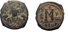 Ancient Byzantine 582- 602 Mauritius Tiberius Antiochia Theoupolis Large Follis