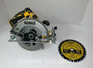 "DeWalt DCS570B 7-1/4"" 20V MAX Cordless Circular Saw (Tool Only) Open Box"