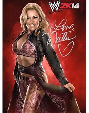 WWE SIGNED PHOTO NATALYA TOTAL DIVAS WRESTLING DIVA 2K14 GAME PROMO
