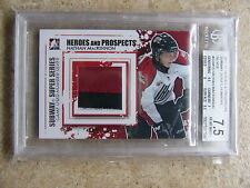 11-12 ITG Heroes Prospects Subway Super Series Number Silver NATHAN MACKINNON /3