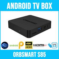 Android TV Box Orbsmart S85 (4K/UHD inkl. HDR10+) / Mini-PC / MKV Mediaplayer