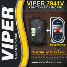 Viper 7941V 2-Way 1-Mile Color Remote Control WITH High Quality Leather Case