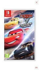 Nintendo Switch Disney Pixar Cars 3 impulsado para ganar