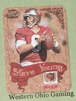 1997 Pacific Philadelphia Collection Steve Young #34 NFL Photoengravings