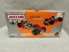 Meccano Design Advanced Construction Car Model No 843700 Toy Set Age 8-15