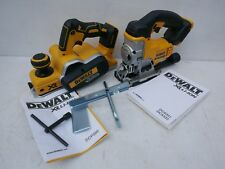 BRAND NEW DEWALT XR 18V DCP580 PLANER & DCS331 JIGSAW BARE UNITS
