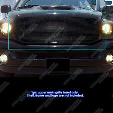 Fits 2006-2008 Dodge Ram 1500/2500/3500 Black Billet Grille Grill Insert