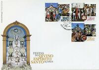 Portugal Cultures Stamps 2020 FDC Festivals Divino Espirito Santo Azores 3v Set