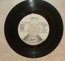 Tommy Hill Cajun Call Slim Jacobs That's Truck Drivin 45 RPM DJ Starday 723