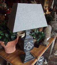 Grand Maison de campagne style antique lampe luminaire table 60cm HAUT NEUF