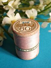751B/ Splendide Bobine De Fil Alsa Pour Broderie N° 60 Rose Poudre N° 818