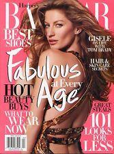 GISELE BUNDCHEN Harper's Bazaar Magazine April 2009 4/09 D-4-1