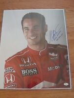 HELIO CASTRONEVES Signed Auto 16 X 20 Photo IRL INDY WINNER 2001 2002 & 2009 JSA