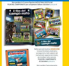 Album Calciatori 2018 2019 panini BUSTINA 4 film campionato ultima uscita C20-25