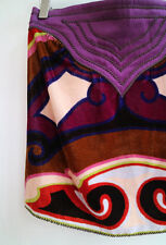 **MISSONI** Silk Blend Velvet Strapless Print Top