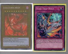 Yugioh Cards - Super Rare Holo - Void Trap Hole REDU-EN076