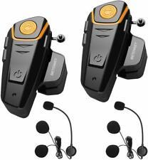 Motorcycle Helmet Intercom Headset, BETOWEY BT-S2 Handsfree Bluetooth