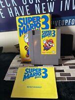 Nintendo NES Super Mario Bros 3 Complete CIB