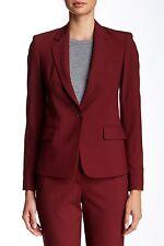 NWT Theory Italian Stretch Wool Gabe N Jacket Blazer, deep cherrywood sz 2, $425