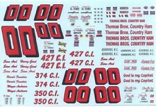 Plastic Performance Products #00 Thomas Bros Country Ham 1965 & 1969 decal