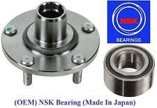 Front Wheel Hub & (OEM) NSK Bearing Kit fit Nissan Altima 2.5L 2002-2006
