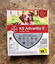 K9 Advantix Ii Flea Medicine Large Dog 2 Month Supply - 21-55 lbs