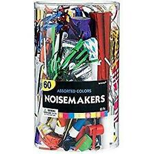 60pc New Years Horns Noisemakers Party Holiday 332099 FAST SHIP! JD