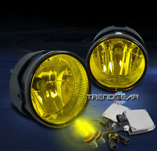 2007-2015 FORD EXPEDITION/2008-2011 RANGER BUMPER FOG LIGHTS YELLOW W/3K HID KIT