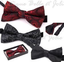Herren-Krawatten & -Fliegen aus Baumwollmischung mit Clip-On