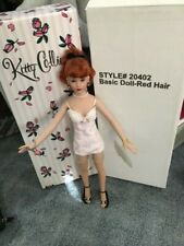 "Kitty Collier 18"" tall basic red head retired 1st Edition"
