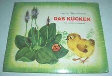 Pop up Bilderbuch Kornej Tschukowski Das Kücken Verlag Malysch Moskau um 1980 !