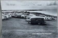 More details for the caravan site llandanwg, black & white postcard, unposted
