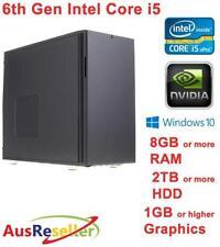 Windows 10 Intel Core i5 6th Gen. 8GB PC Desktops