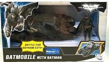 "Batman The Dark Knight Rises Movie Tumbler Batmobile With 3.75"" Figure Gotham"