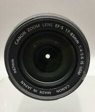 Canon EF-S 17-85mm f/4-5.6 IS USM Lens - Fast Ship - E44