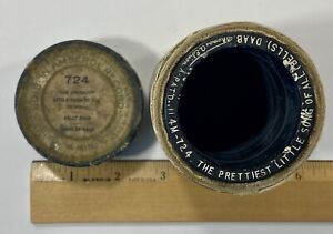 Edison Amberol Record Cylinder # 724 The Prettiest Little Song of All Bells Solo