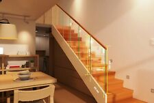 Nidda Glass Panel For Stair or Landing Staircase 8mm Toughened Glass